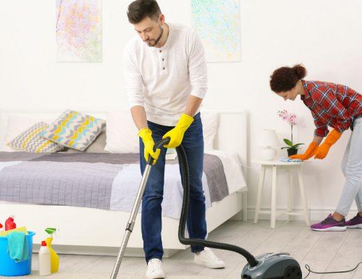 Пролетно почистване на спалнята